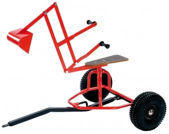 Minibagger / Sandbagger rot DINO CARS Bild 2