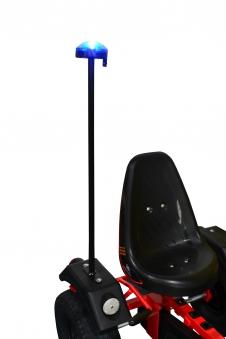 Rundumleuchte / Blaulicht für Gokart DINO CARS Bild 2