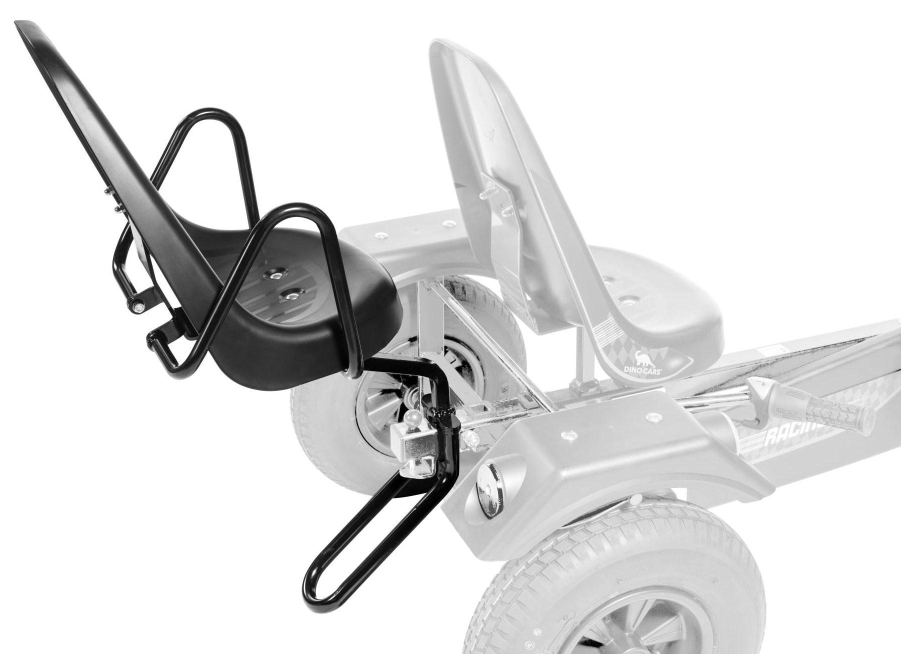 Zusatzsitz mit Armlehne und Kippschutz für Gokart DINO CARS Bild 1