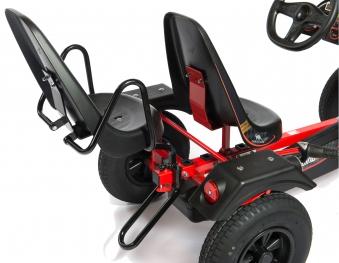 Zusatzsitz mit Armlehne und Kippschutz für Gokart DINO CARS Bild 2