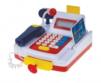 Happy People Kasse mit Rechner-Funktion für Kinder batteriebetreiben Bild 1