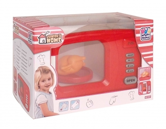 Happy People Mikrowelle für Kinder batteriebetrieben Bild 2