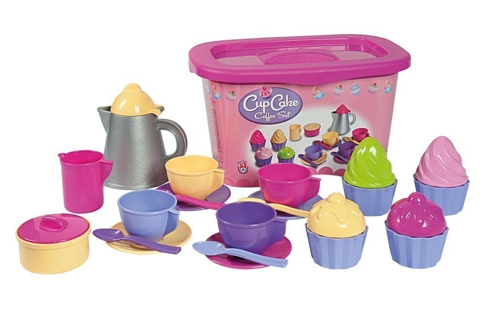 Spielzeug Kaffee Set Cupcakes 24-teilig Bild 1