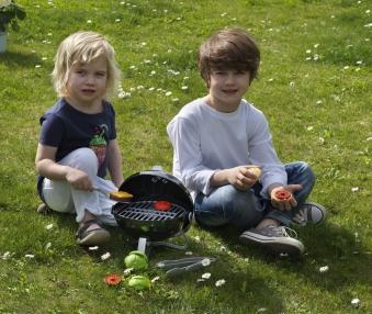 Weber Grill Smokey Joe für Kinder Bild 3