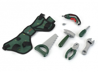 BOSCH Werkzeuggürtel mit Akkuschrauber Ixolino II für Kinder Bild 1