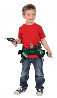 BOSCH Werkzeuggürtel mit Akkuschrauber Ixolino II für Kinder Bild 3