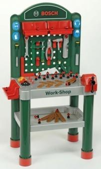 BOSCH Workshop / Werkbank 75-teilig für Kinder Bild 1