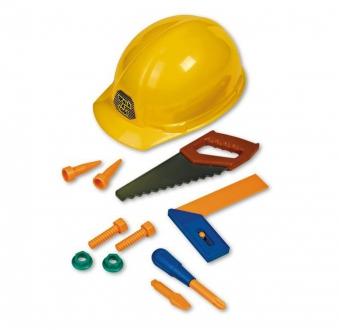 Helm mit Werkzeug Bild 1