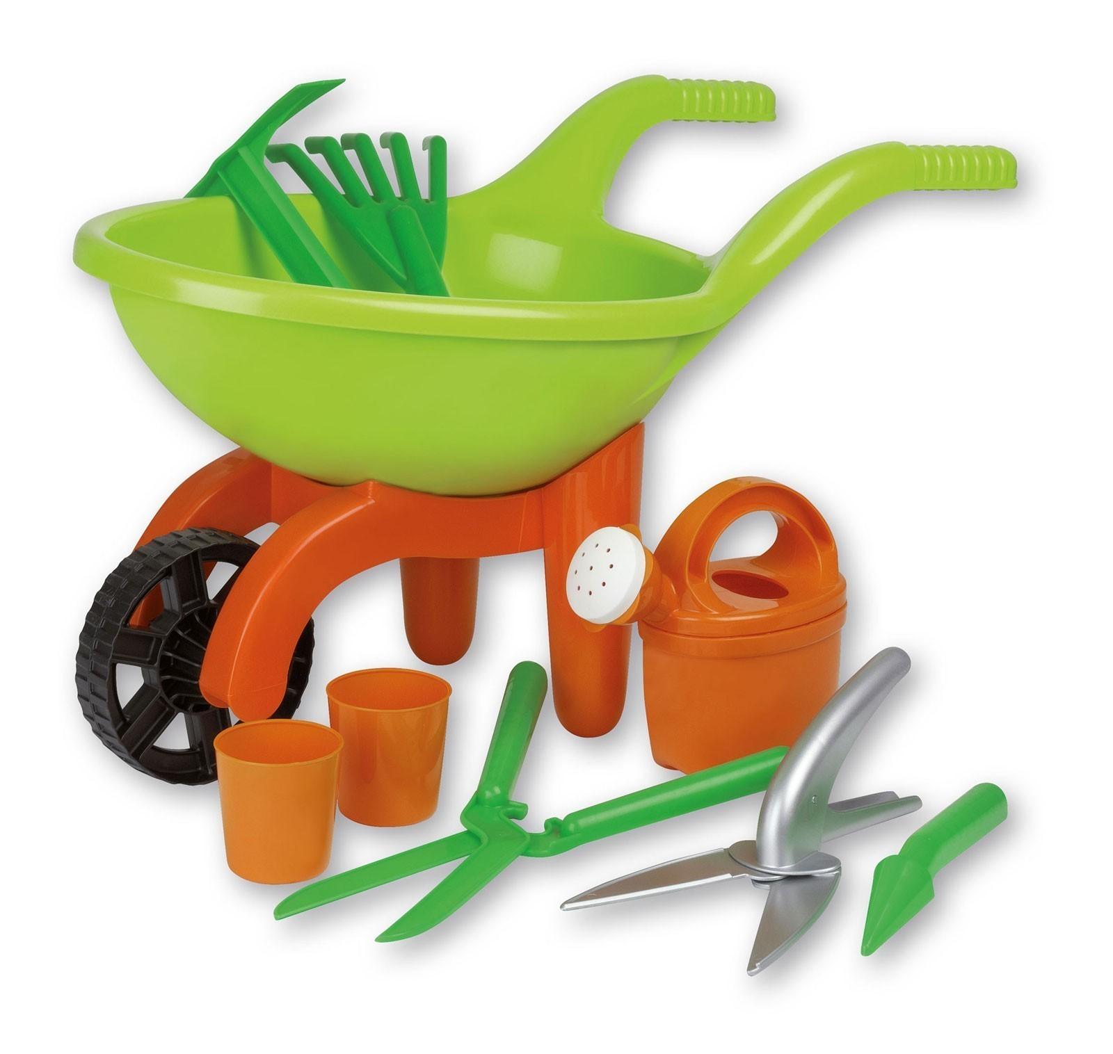 Spielzeug Schubkarre mit Gartenwerkzeug 9-teilig Simba Bild 1
