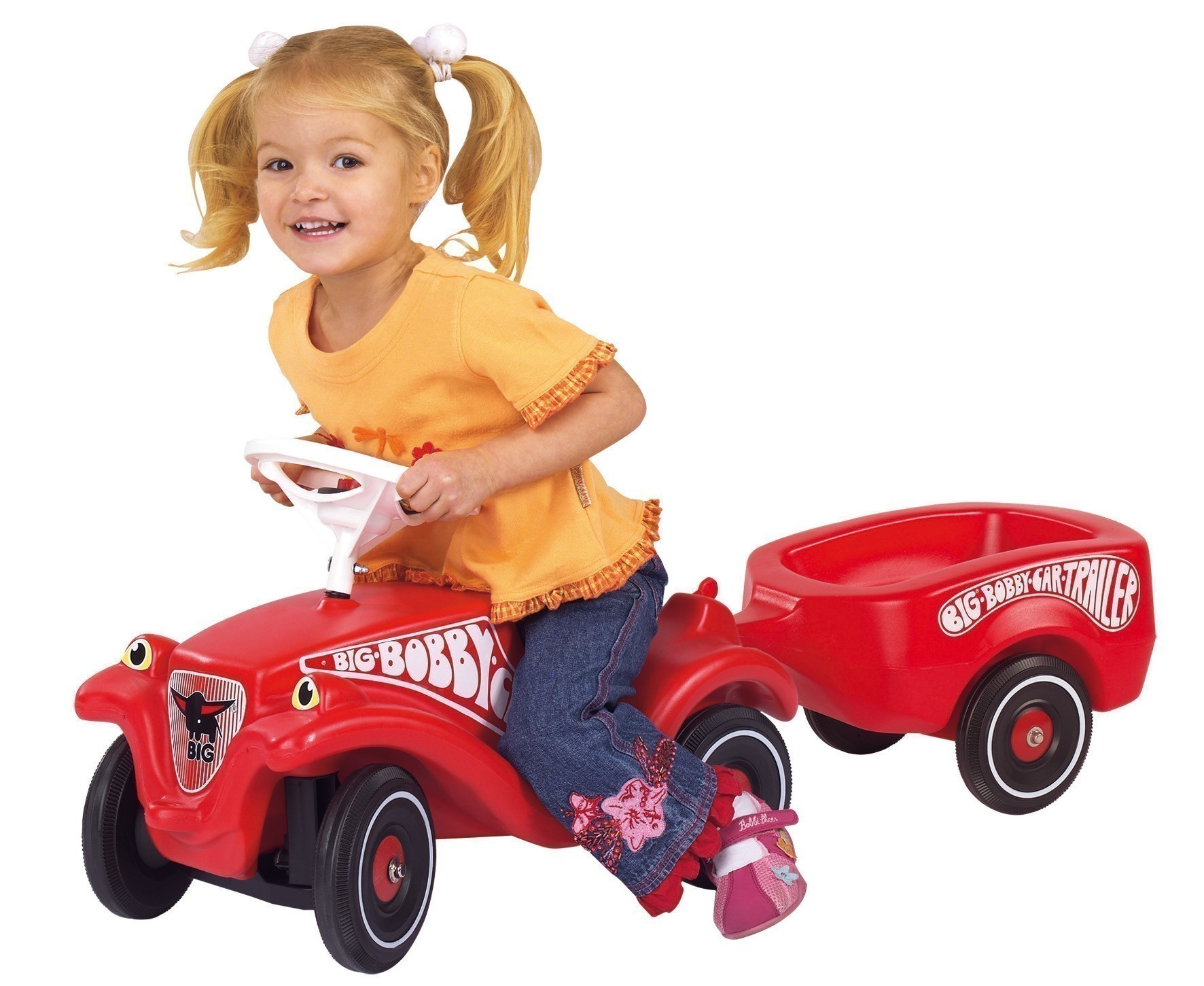 BIG Anhänger / Bobby Car Trailer rot Bild 2