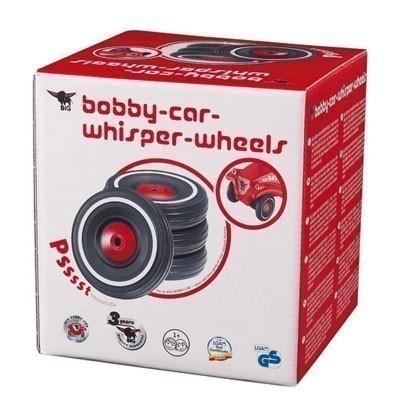 BIG Flüsterreifen / Flüsterräder Set Whisper Wheels für Bobby Car Bild 2