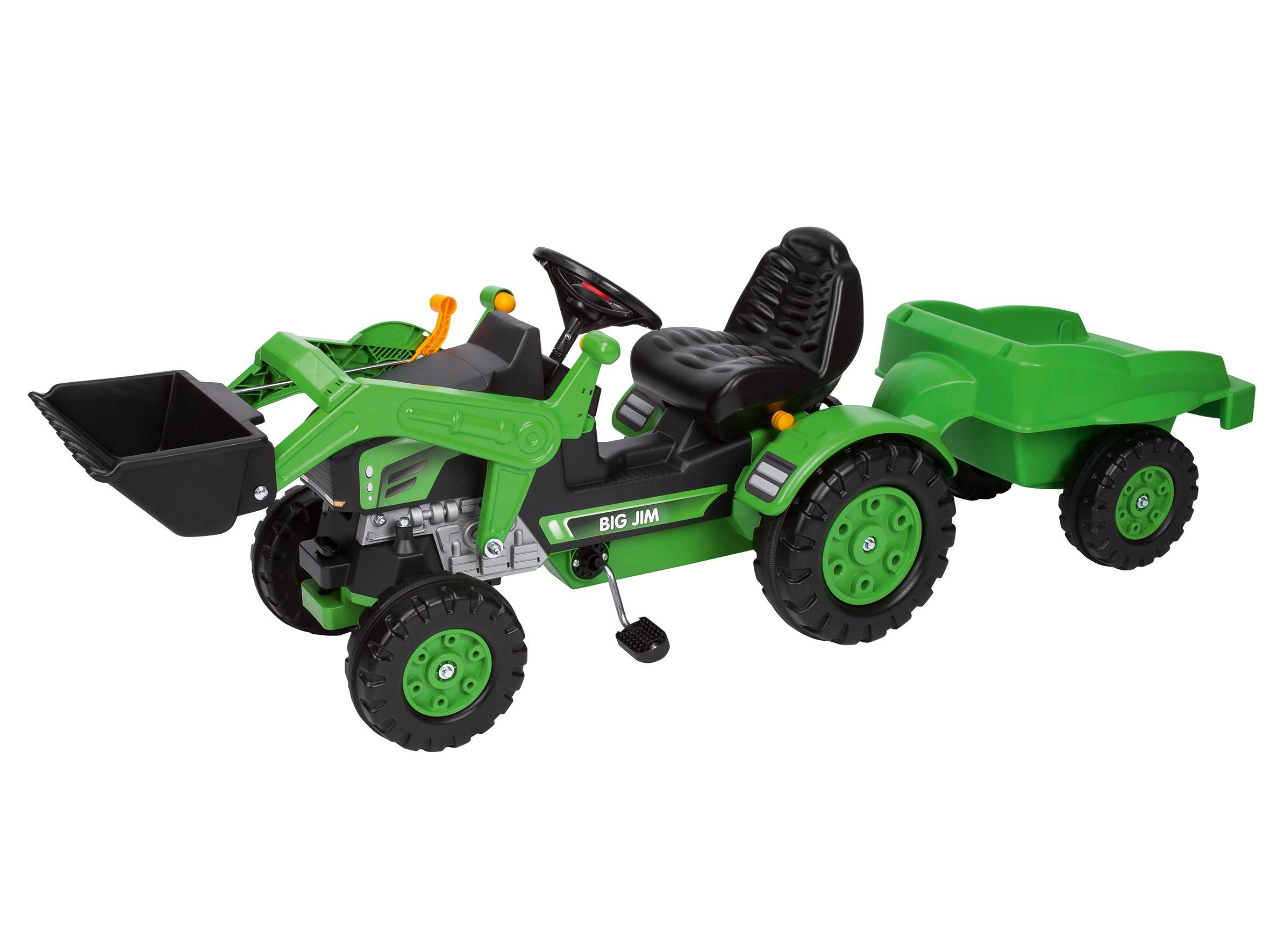 BIG Jim-Loader + Trailer Traktor für Kinder Bild 1