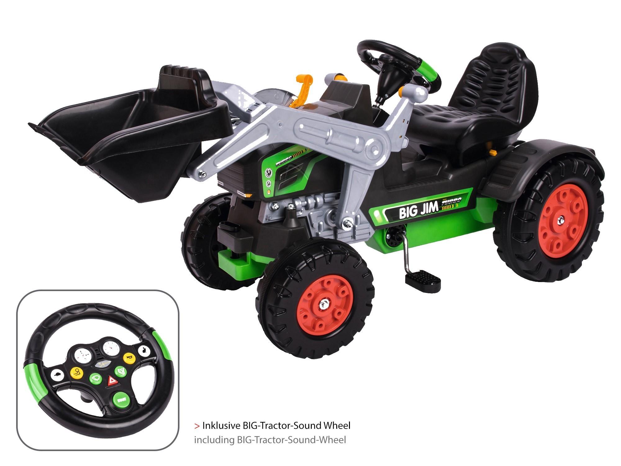 BIG Jim-Turbo Traktor für Kinder Bild 1