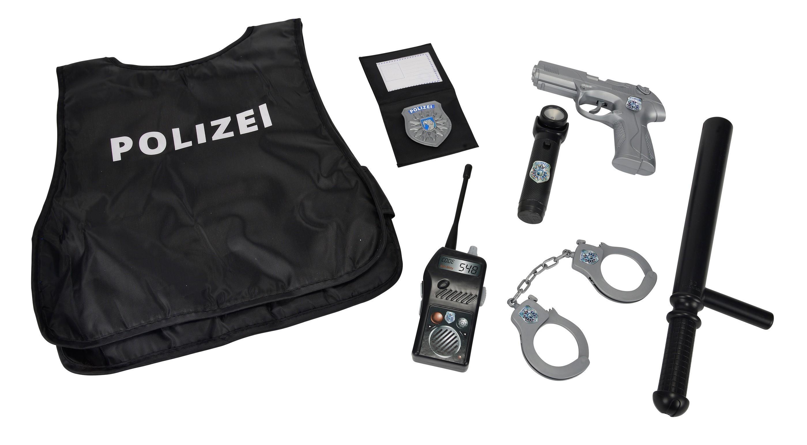 BIG Kinder Polizei Einsatz-Set 8-teilig Bild 1