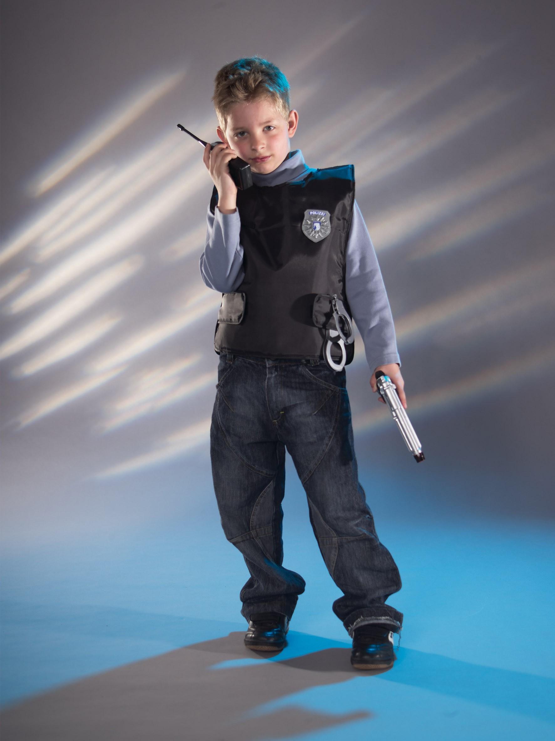 BIG Kinder Polizei Einsatz-Set 8-teilig Bild 2