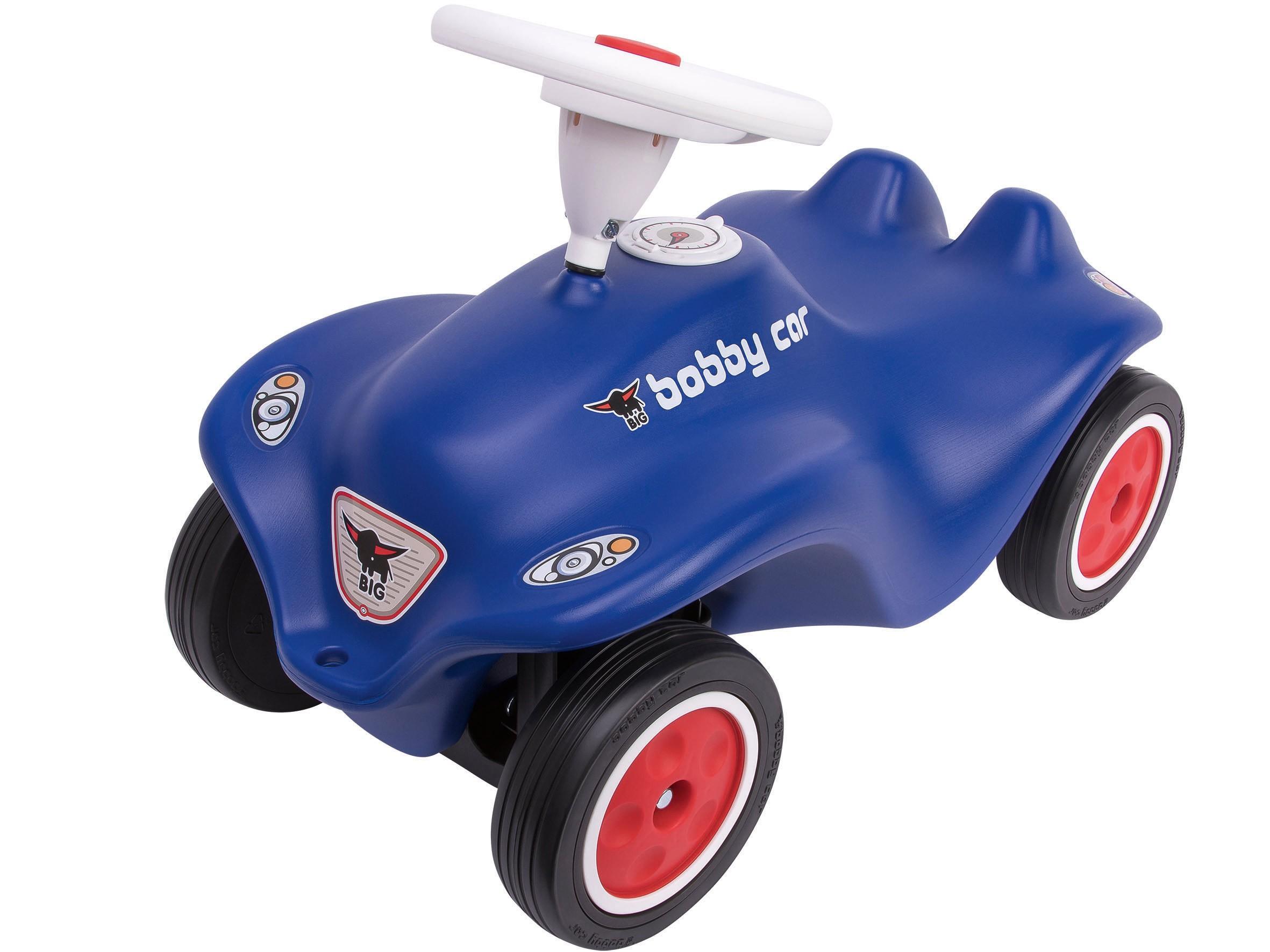 BIG New Bobby Car Royalblau mit Flüsterreifen Bild 1
