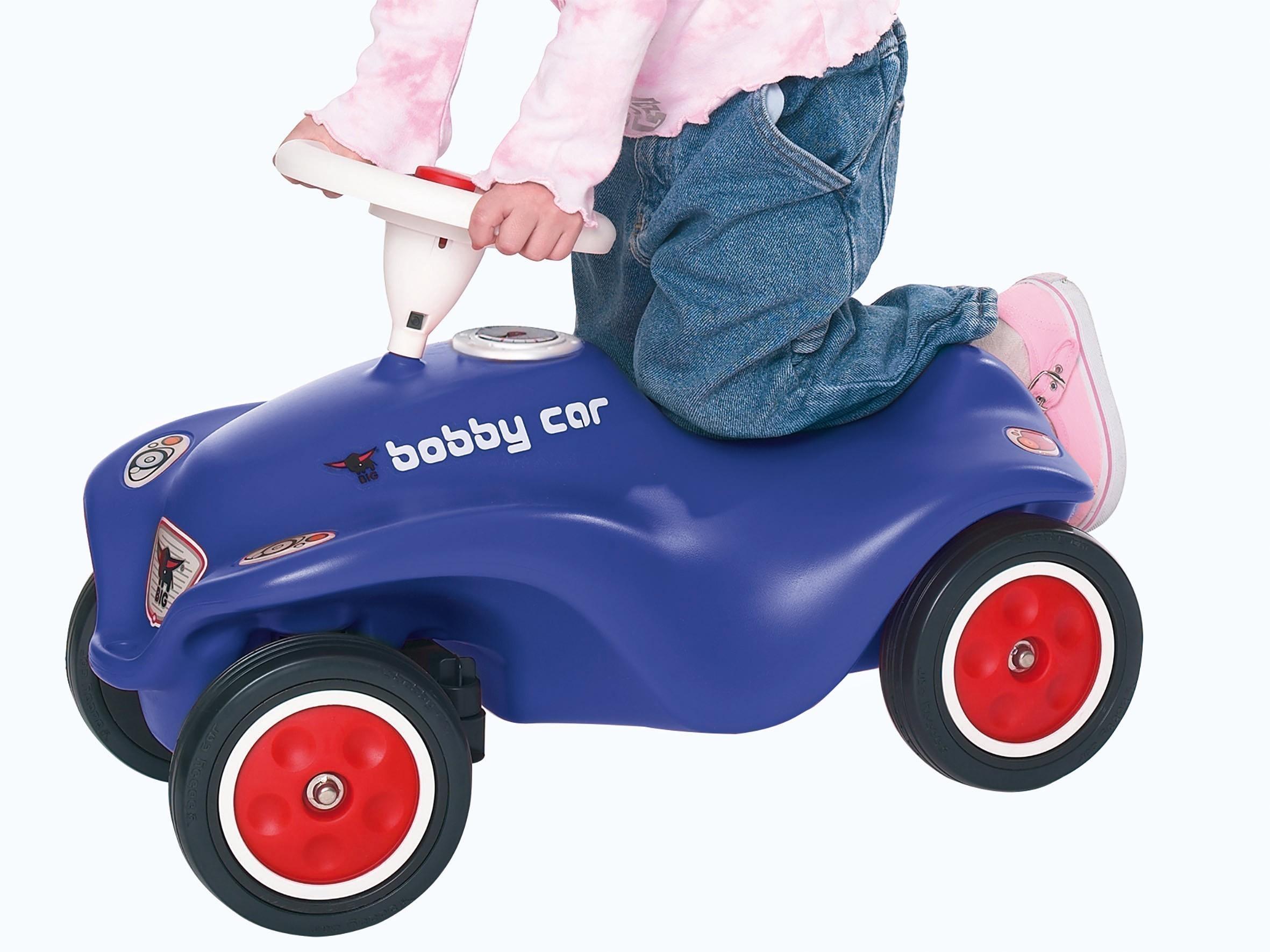 BIG New Bobby Car Royalblau mit Flüsterreifen Bild 2