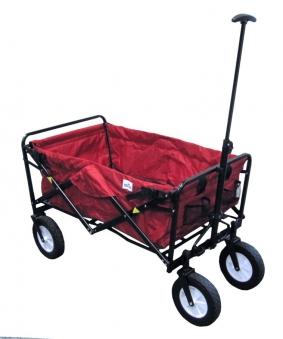 faltbarer bollerwagen rot bei. Black Bedroom Furniture Sets. Home Design Ideas