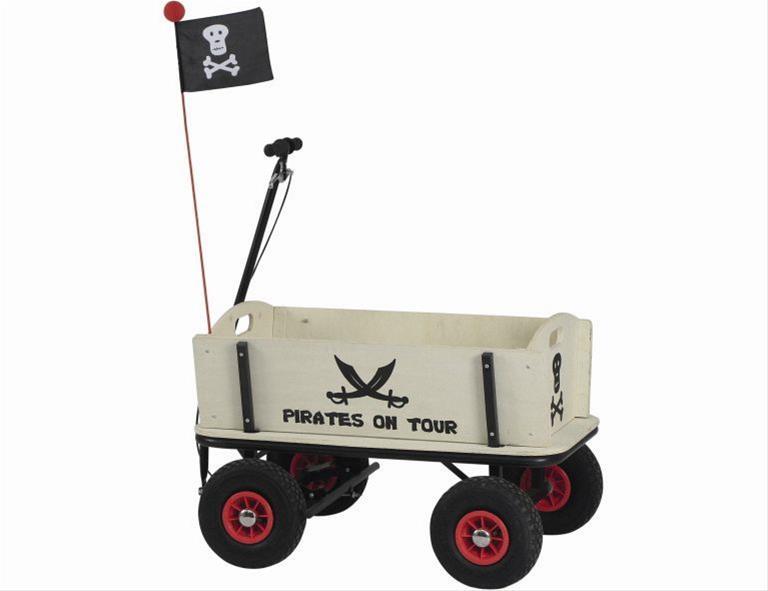 pinolino bollerwagen pirat jack mit handbremse bei. Black Bedroom Furniture Sets. Home Design Ideas