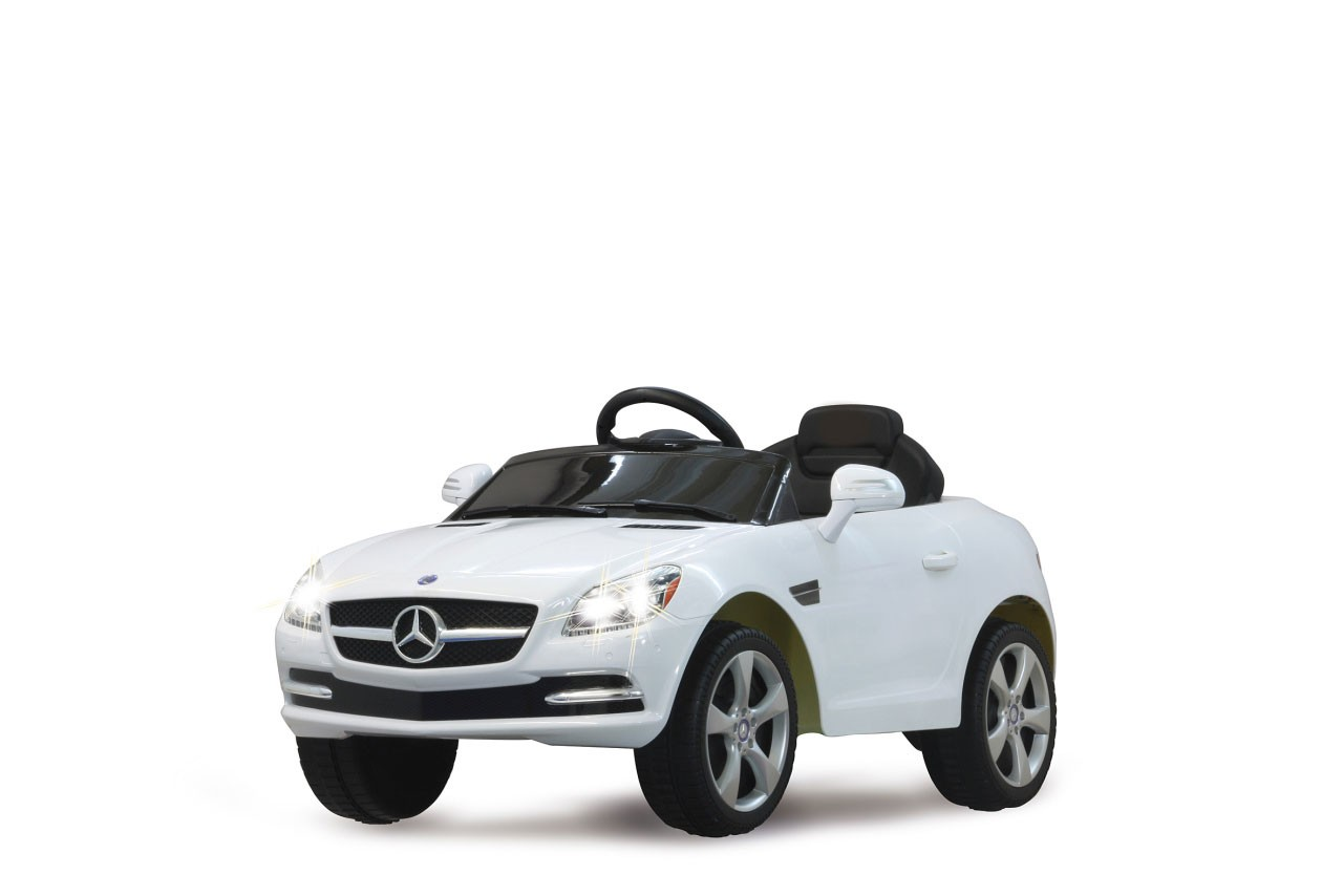 jamara elektro kinderauto ride on mercedes benz slk wei. Black Bedroom Furniture Sets. Home Design Ideas