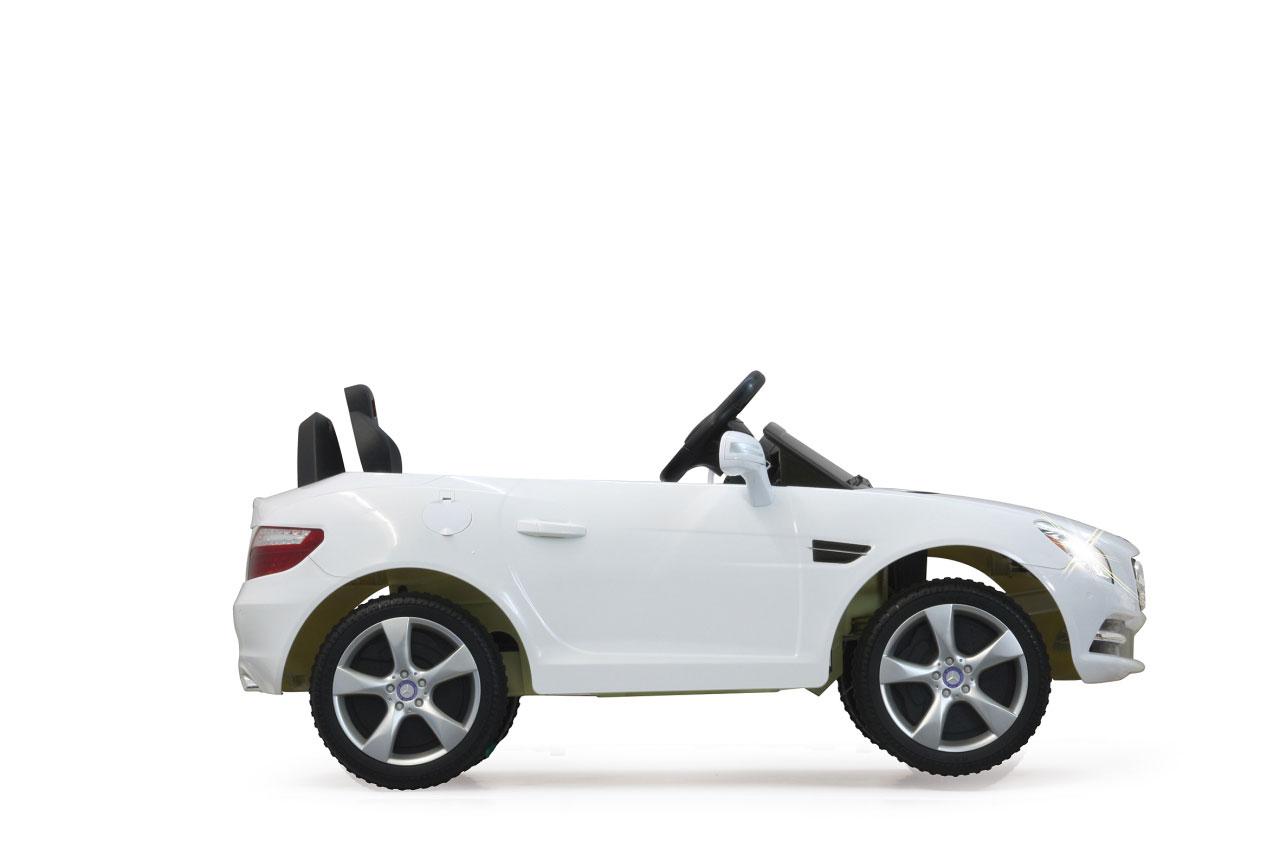 Jamara Elektro Kinderauto Ride-on Mercedes Benz SLK weiß Bild 2