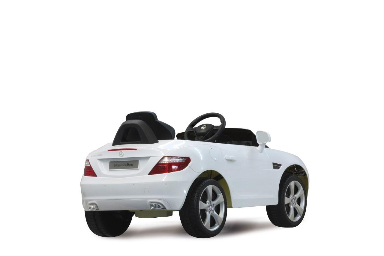 Jamara Elektro Kinderauto Ride-on Mercedes Benz SLK weiß Bild 3