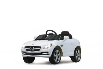 Jamara Elektro Kinderauto Ride-on Mercedes Benz SLK weiß Bild 1