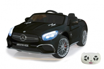 Jamara Elektro Kinderauto Ride-on Mercedes SL65 schwarz 12V Bild 1