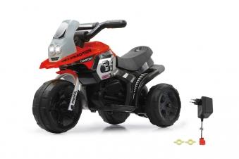 Jamara Elektro Kinderfahrzeug Dreirad Ride-on E-Trike Racer rot Bild 1