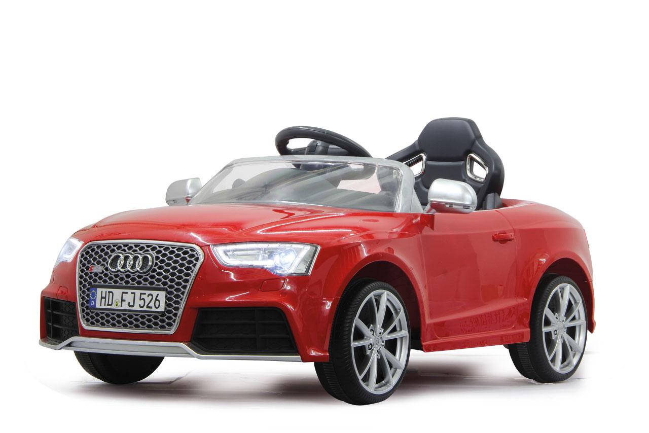 Jamara Elektro Kinderfahrzeug Kinderauto Ride-on Audi RS5 rot Bild 1