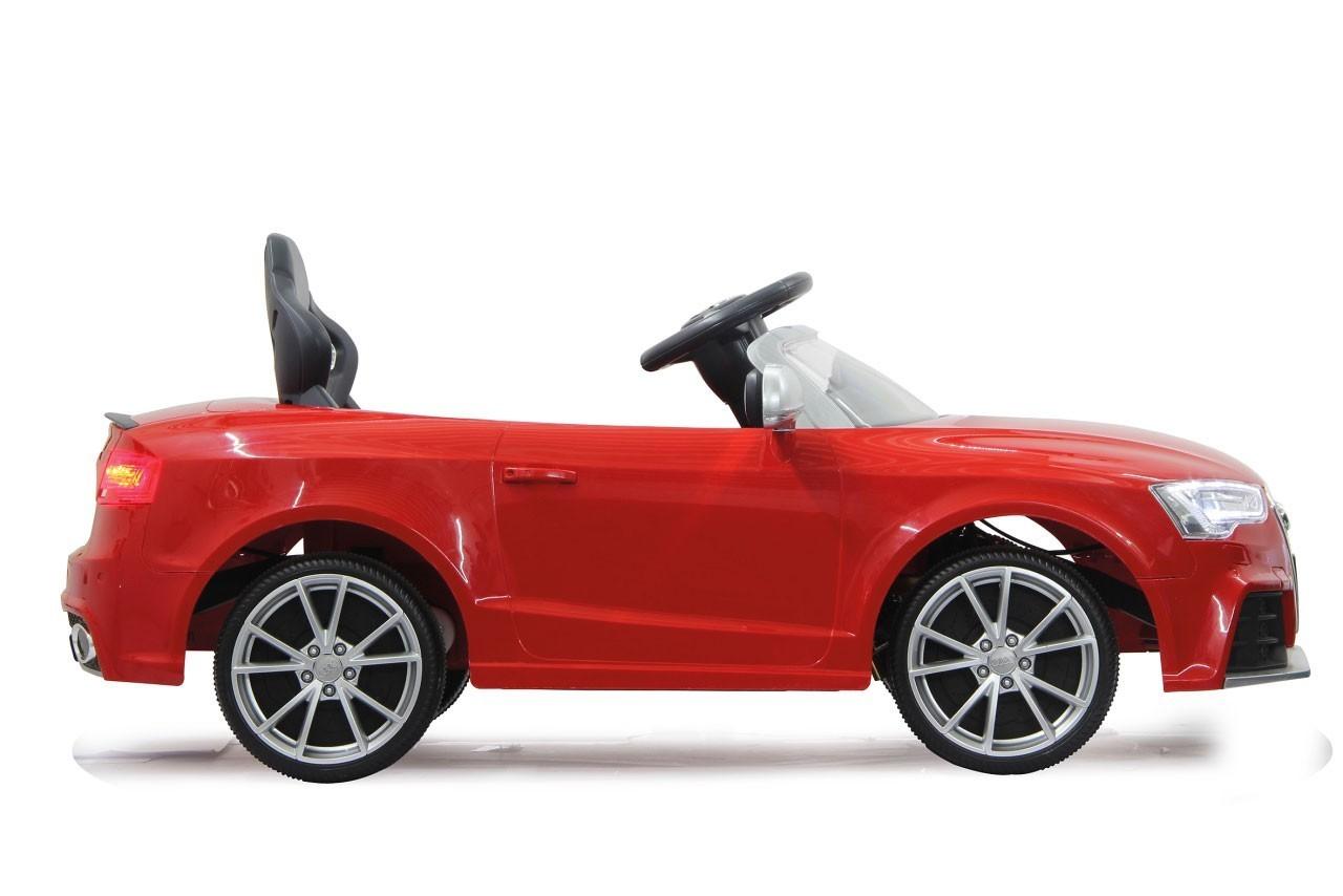 Jamara Elektro Kinderfahrzeug Kinderauto Ride-on Audi RS5 rot Bild 3