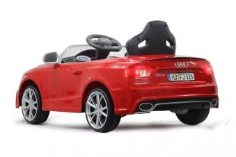Jamara Elektro Kinderfahrzeug Kinderauto Ride-on Audi RS5 rot Bild 2