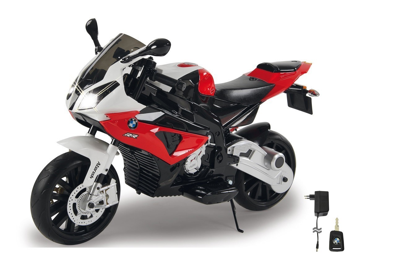 Jamara Elektro Kinderfahrzeug Ride-on Motorrad BMW S1000RR rot 12V Bild 1