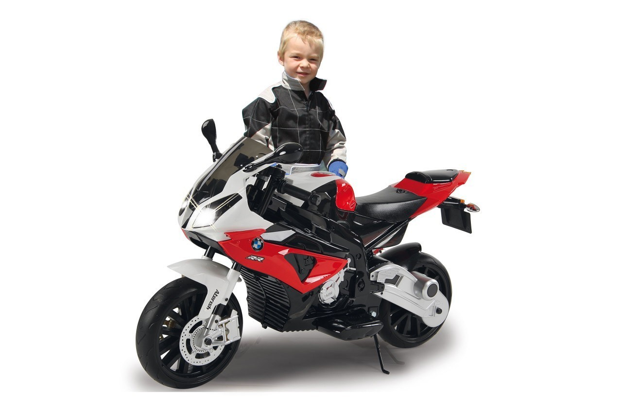Jamara Elektro Kinderfahrzeug Ride-on Motorrad BMW S1000RR rot 12V Bild 3