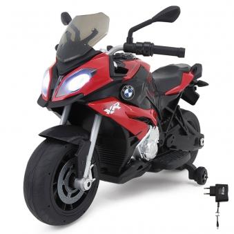 Jamara Elektro Kinderfahrzeug Ride-on Motorrad BMW S1000XR rot 6V Bild 1
