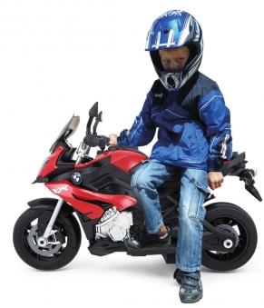 Jamara Elektro Kinderfahrzeug Ride-on Motorrad BMW S1000XR rot 6V Bild 3