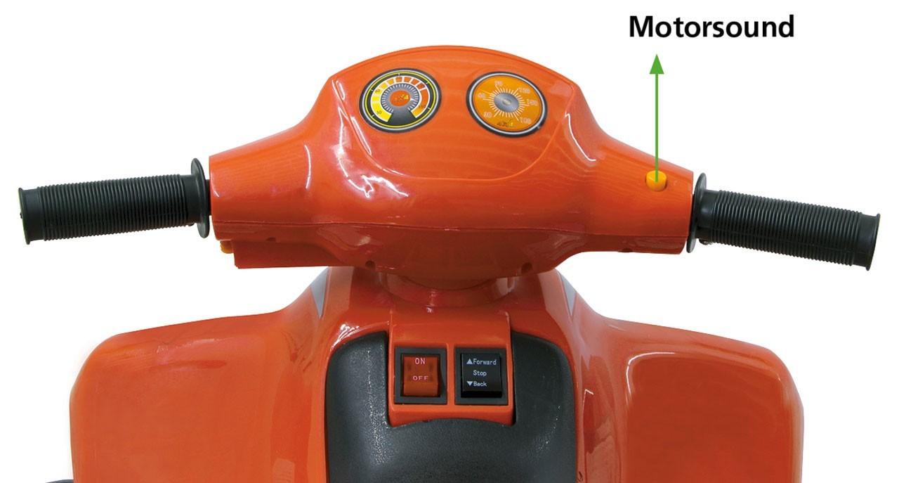 Jamara Elektro Kinderfahrzeug Ride-on Quad Pico Bild 2