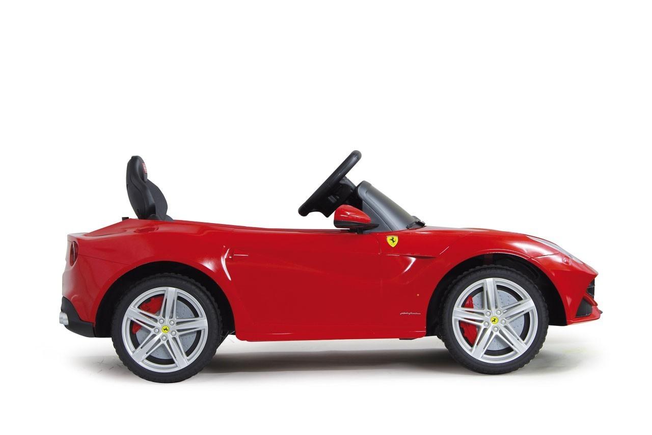 Jamara Elektroauto Kinder Ride-on Ferrari F12 Berlinetta rot Bild 2