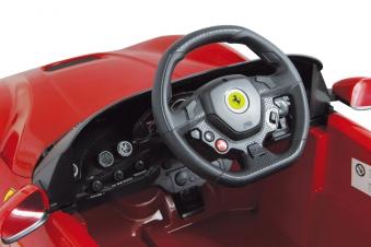 Jamara Elektroauto Kinder Ride-on Ferrari F12 Berlinetta rot Bild 3