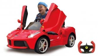 Jamara Elektroauto Kinder Ride-on Ferrari LaFerrari Bild 1