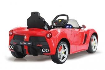 Jamara Elektroauto Kinder Ride-on Ferrari LaFerrari Bild 2