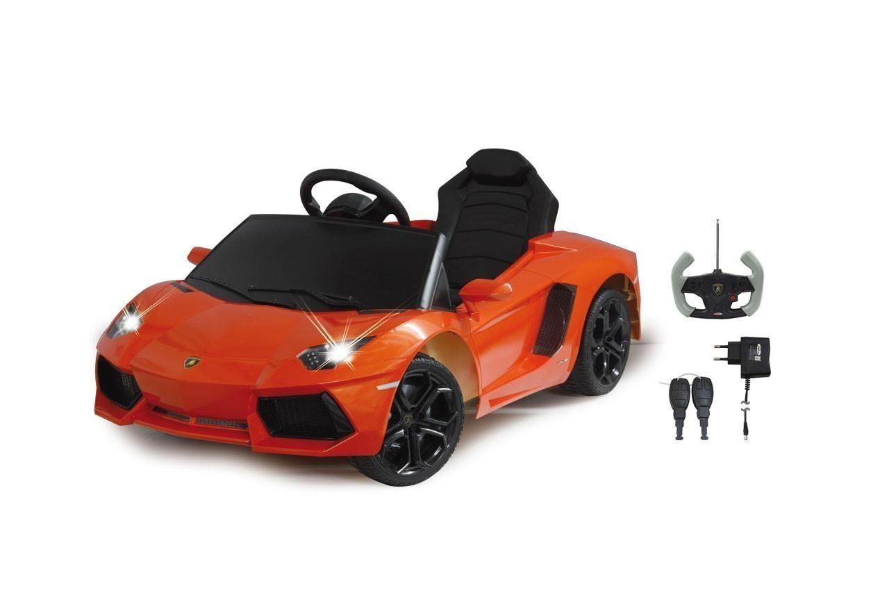 Jamara Elektroauto Kinder Ride-on Lamborghini Aventador orange Bild 1