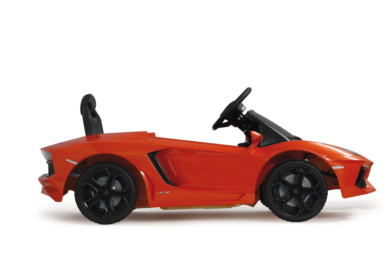 Jamara Elektroauto Kinder Ride-on Lamborghini Aventador orange Bild 3