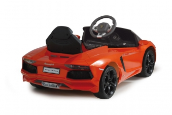 Jamara Elektroauto Kinder Ride-on Lamborghini Aventador orange Bild 2