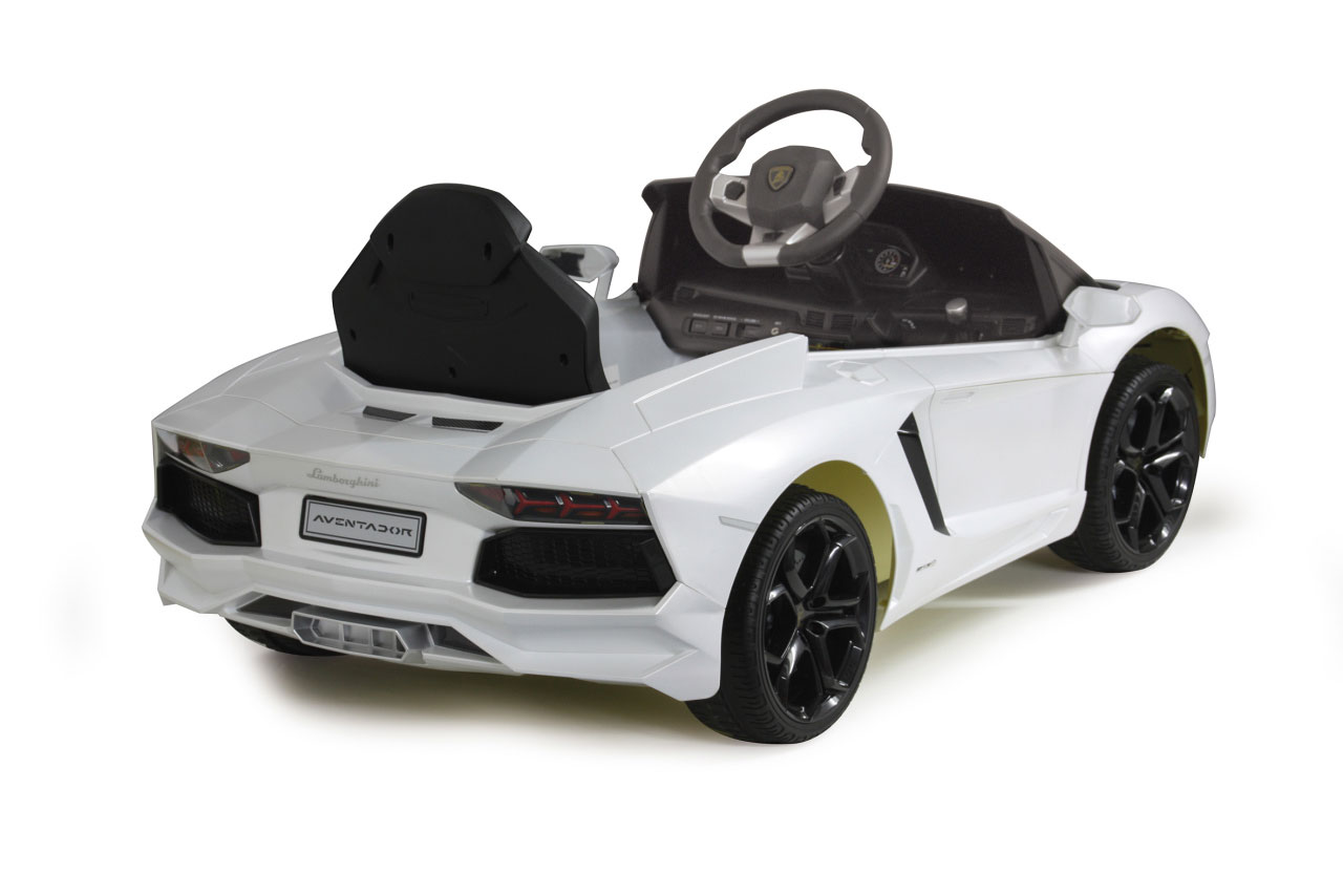 Jamara Elektroauto Kinder Ride-on Lamborghini Aventador weiß Bild 2