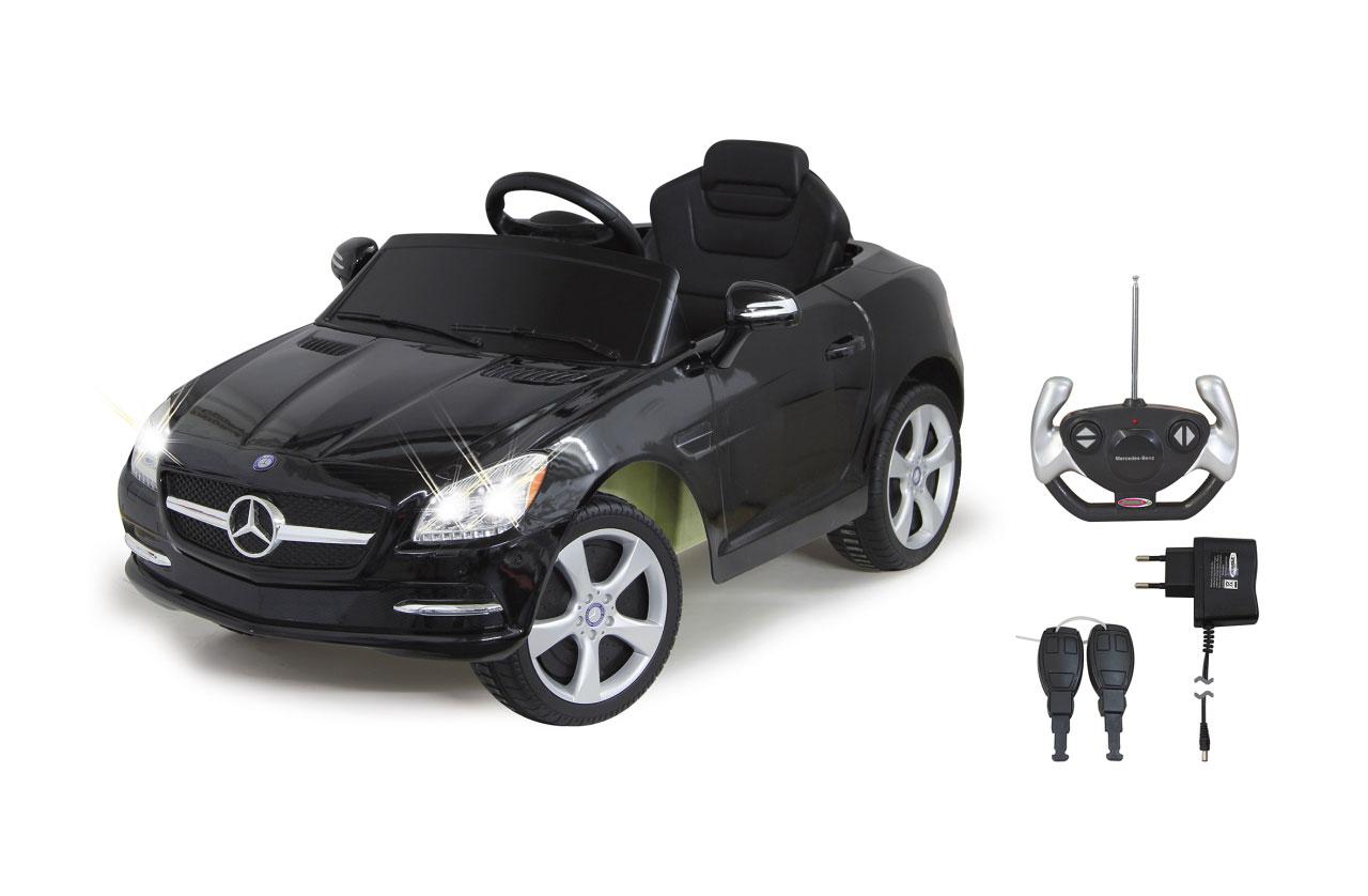 Jamara Elektroauto Kinder Ride-on Mercedes Benz SLK schwarz Bild 1