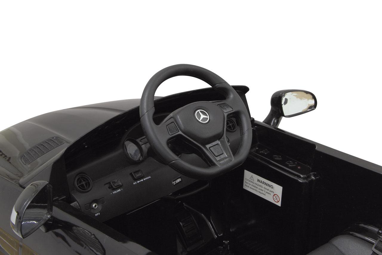 Jamara Elektroauto Kinder Ride-on Mercedes Benz SLK schwarz Bild 3