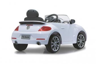 Jamara Elektroauto Kinder Ride-on VW Beetle weiß Bild 2