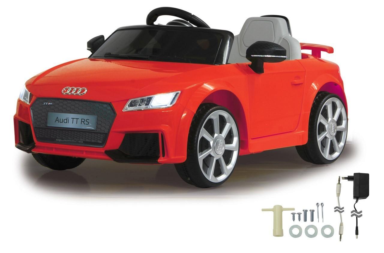 Jamara Kinderfahrzeug Elektroauto Kinder Ride-on Audi TT RS rot 12V Bild 1