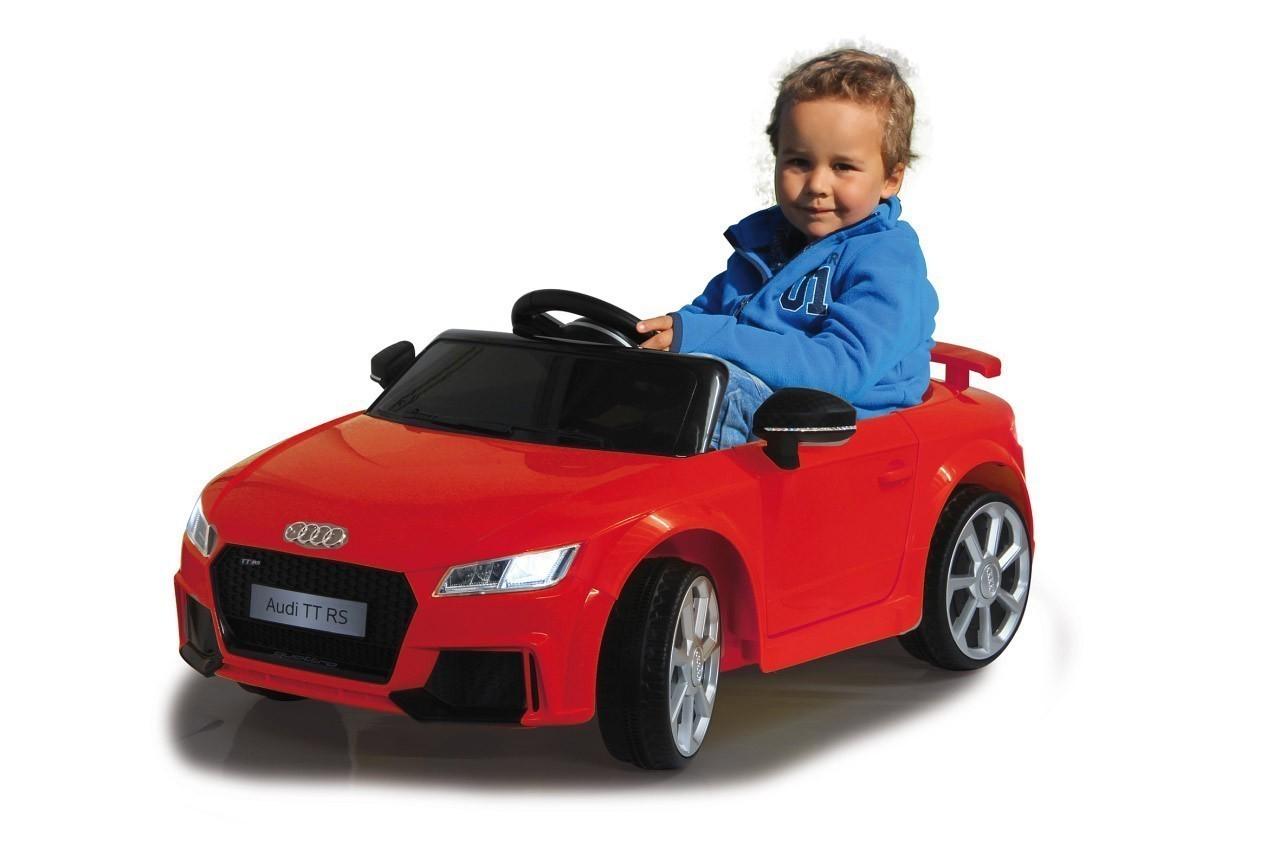 Jamara Kinderfahrzeug Elektroauto Kinder Ride-on Audi TT RS rot 12V Bild 3
